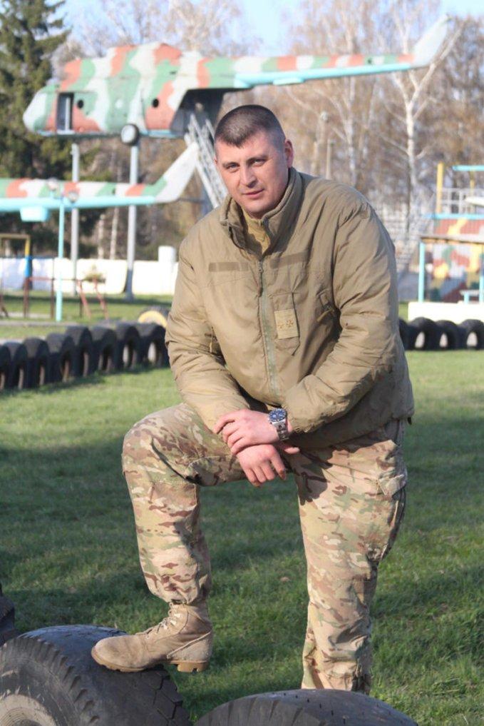Командир 8-го полка киевских террористов Нечаев Олег Александрович