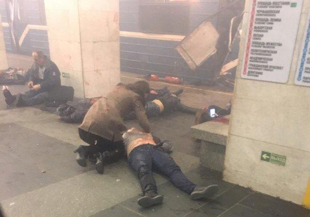 Террористы атаковали Санкт-Петербург - 11 погибших