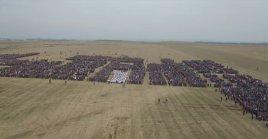 Крупнейший сбор военного резерва ДНР на случай войны