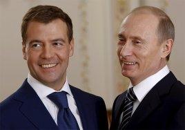 Путин и Медведев опубликовали сведения о своих миллиардах