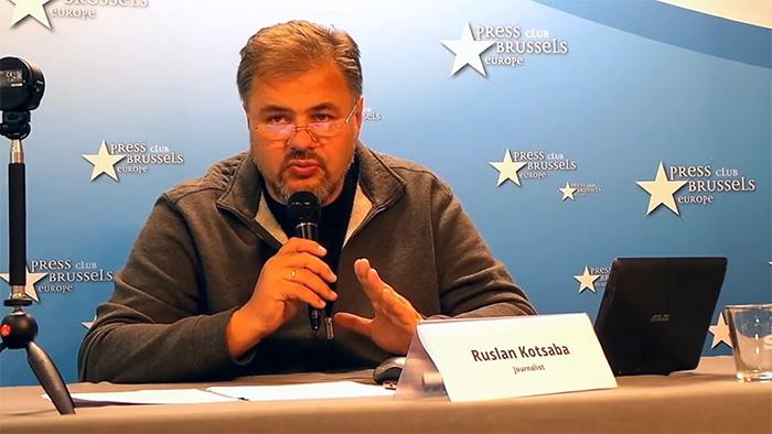 Картинки по запросу В Брюсселе украинские журналисты призвали к импичменту диктатора