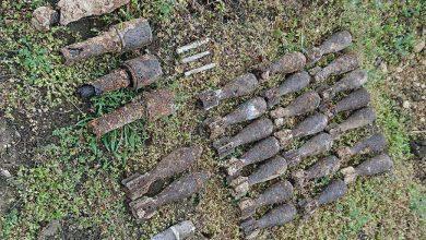 Photo of В Запорожской области археологи нашли арсенал боеприпасов