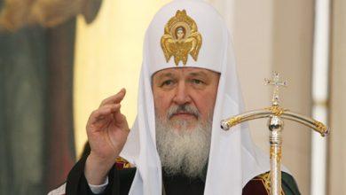 Photo of Патриарх Всея Руси впервые за годы Независимости Украины провел богослужение в Софии Киевской