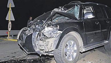 Photo of На Жулянском мосту джип врезался в экскаватор: один человек погиб