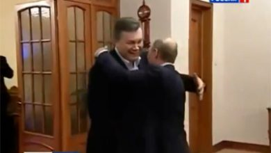 Photo of На российском ТВ «размазали» Януковича после визита к Путину