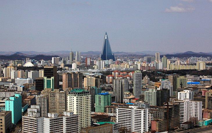 Столица Северной Кореи - город Пхеньян