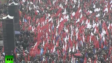 Photo of В Молдавии противники ассоциации с ЕС устроили 50-ти тысячный митинг протеста