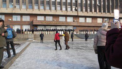 Photo of Майдауная клоунада у запорожской облгосадминистрации
