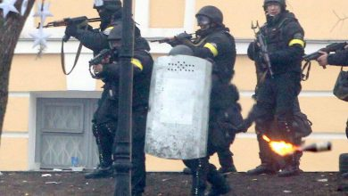Photo of По Киеву бегают ряженные под милицию боевики с автоматами