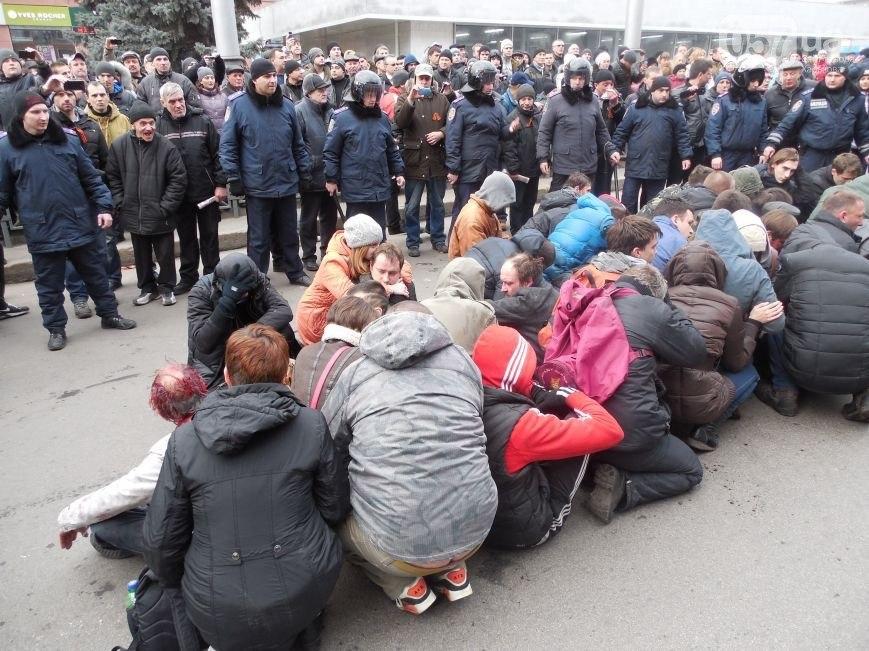 Боевиков майдауна вывели из Харьковской ОГА