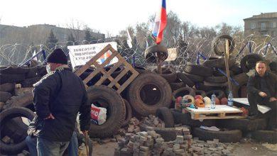 Photo of Репортаж из захваченного антифашистами здания Донецкой ОГА