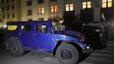 Photo of В Луганск доставили бронеавтомобиль Жириновского (видео)