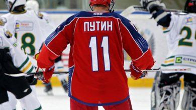 Photo of Путин забросил шесть шайб на хоккейном матче в Сочи