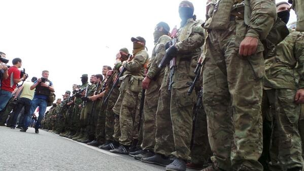 Участники митинга в Донецке направились к резиденции Ахметова