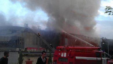 Photo of В Донецке сгорела арена чемпионата мира по хоккею (видео)