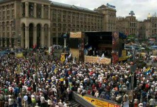 Photo of На Майдане возобновили еженедельное Народное Вече