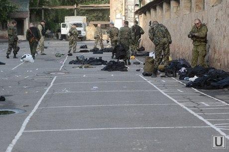 В Луганске сдалась воинская часть Нацгвардии