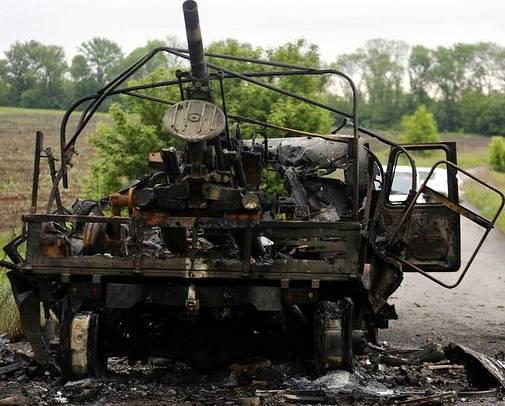 Сводные потери Киевских карателей в Новороссии