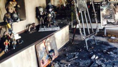 Photo of В Одессе сожгли мастерскую с экспозицией посвященной Майдану