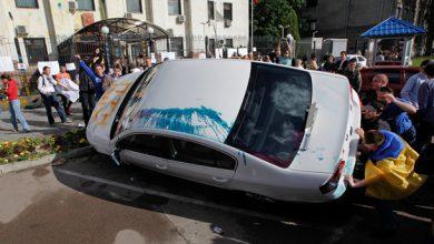 Photo of Майдан опроверг свое участие в штурме посольства РФ