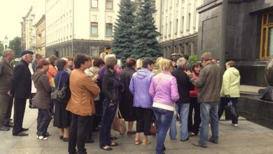 Photo of Родственники бойцов АТО пикетируют Администрацию президента