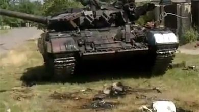 Photo of Ополченцы захватили танк и взяли в плен экипаж
