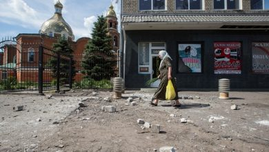 Photo of Каратели обстреляли православный храм в Славянске, погиб человек