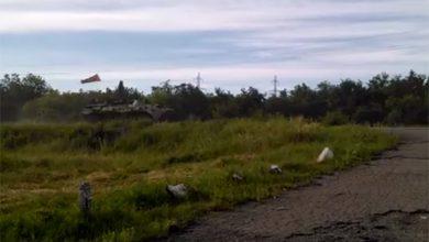 Photo of К Славянску направляется колонна бронетехники (видео)