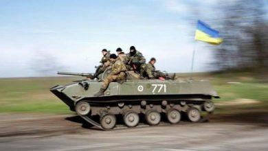 Photo of Ополченцы под Луганском разбили колонну украинской бронетехники