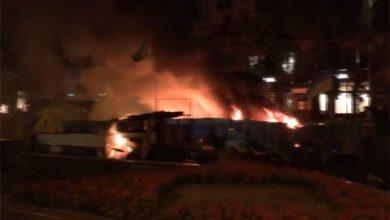 Photo of Майдан горит синим пламенем (видео)