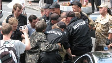 Photo of Подробности стрельбы в Киеве — Пашинскому разбили очки