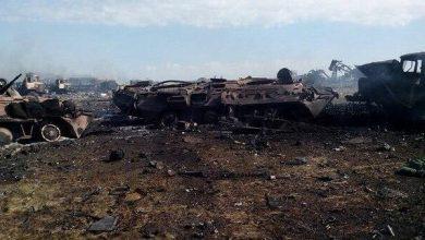 Photo of Обстановка в зоне карательной операции 9..12 июля 2014г.