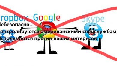 Photo of Не хотите быть под колпаком? Отказывайтесь от Google, Skype и Dropbox
