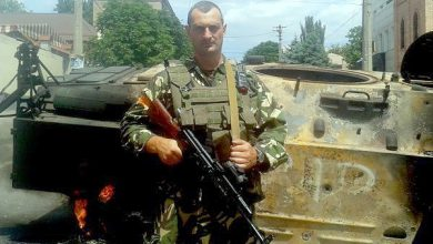 Photo of Муж Черновол Николай Березовой убит под Иловайском