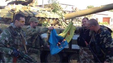 Photo of О захвате танков карателей в пгт.Старобешево