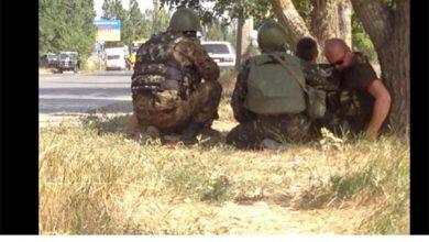 Photo of Каратели батальона «Азов» уходят с позиций в 10 км к востоку от Мариуполя