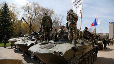 Photo of Ополченцы на бронетехнике вошли в Мариуполь
