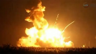 Photo of Ракета Antares взорвалась через несколько секунд после старта — видео