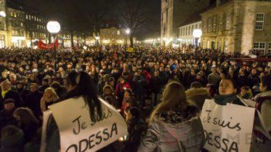 Photo of «Je suis Odessa» — антифашистский марш в Германии