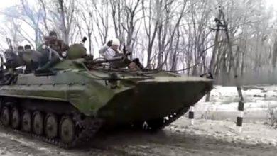 Photo of Танки ДНР под Углегорском