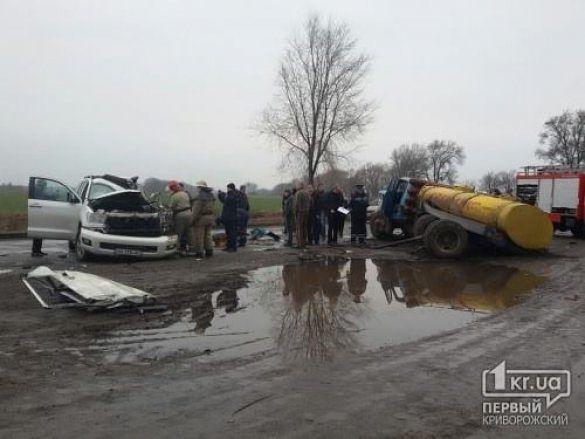 Фото с места ДТП, в котором погиб Кузьма Скрябин