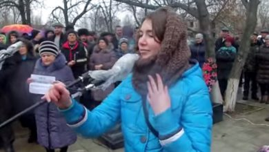 Photo of Девушку, которая выступила против мобилизации, ищет украинское Гестапо