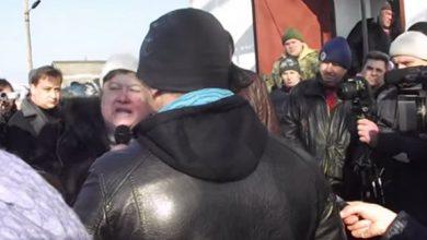 Photo of Антивоенный митинг в Великой Знаменке Запорожской обл.