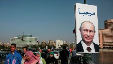 Photo of Египтяне, пережившие свой Майдан, встречают Путина плакатами с его портретами