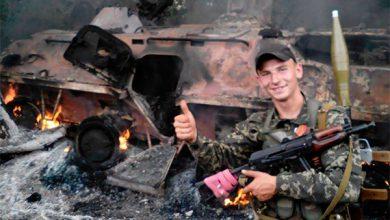 Photo of У Саханки атакована колонна карательного батальона «Донбасс»