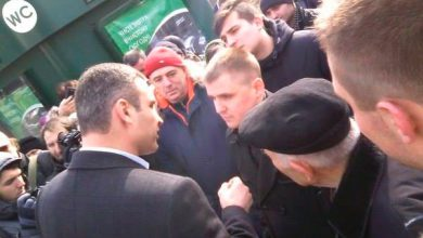 Photo of Кличко не пошёл на фронт
