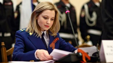 Photo of Наталья Поклонская: «Лучше я буду сидеть в камере, чем служить фашистам»