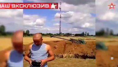 Photo of Трофейное видео: куда стреляли украинские артиллеристы в Славянске