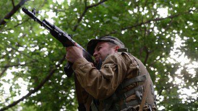 Photo of Каратели наступают, антифашистов выбили из Песок