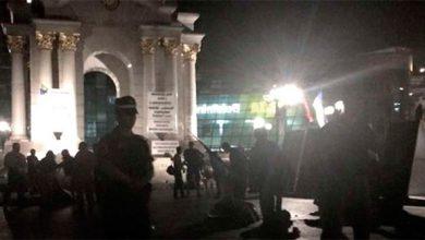 Photo of Ночью на Майдане титушки Порошенко снесли палатки